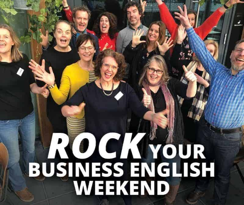 Join me in September for the Rock Your Business English Weekend!