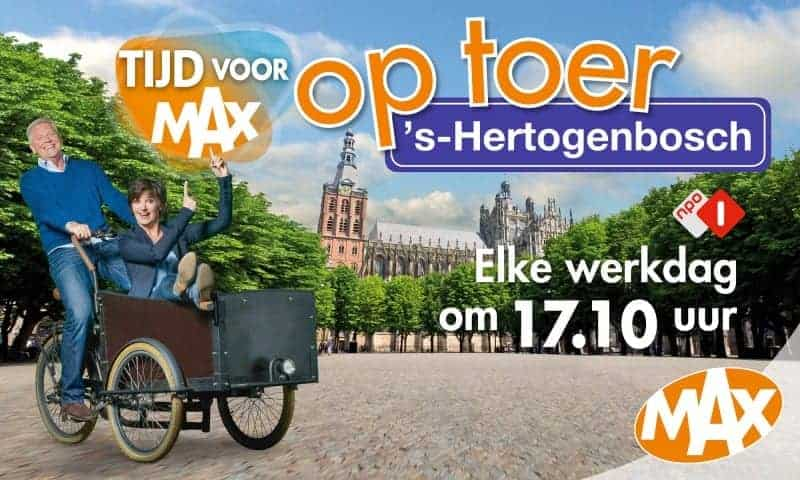I'm so excited to be on Omroep Max next Wednesday at 17.10! Get the Bossche Bollen ready!