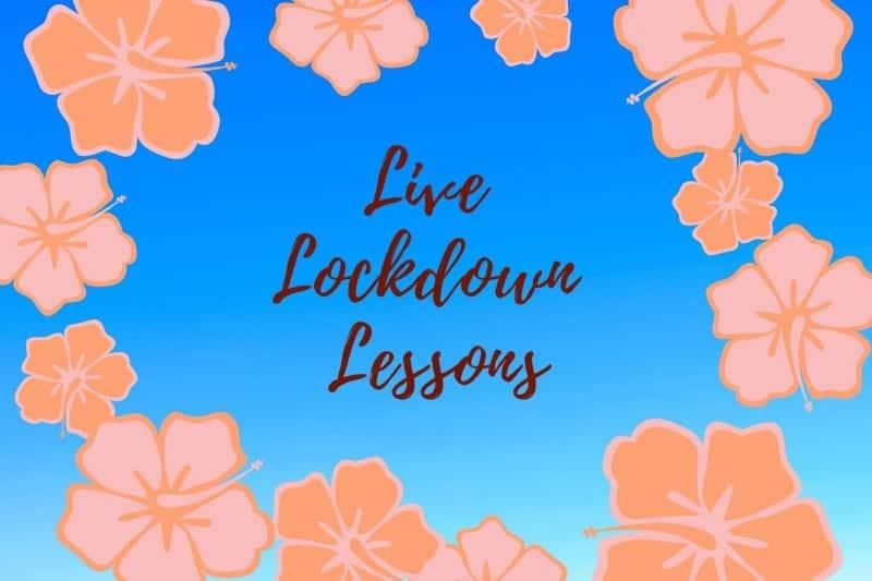 Free live lockdown lessons!